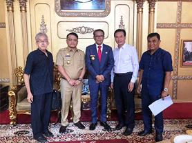 秋龙仪器印尼客户